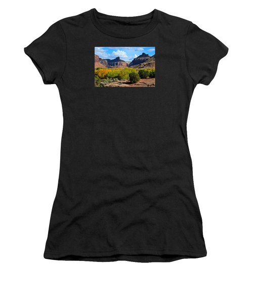 Fall At Indian Creek Women's T-Shirt (Athletic Fit)