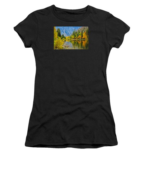 Fall At North Lake Women's T-Shirt