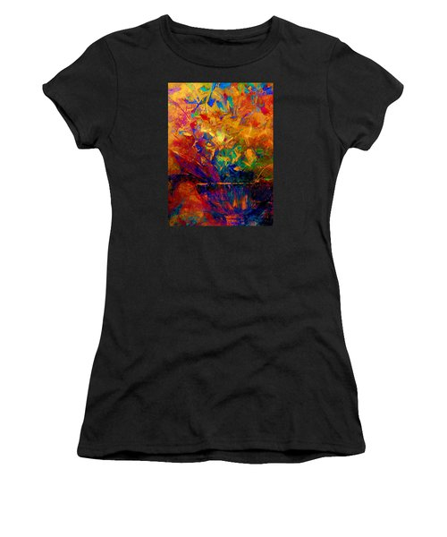 Fall Bouquet  Women's T-Shirt (Athletic Fit)