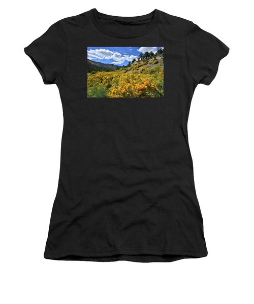 Fall Colors Come To Mt. Charleston Women's T-Shirt