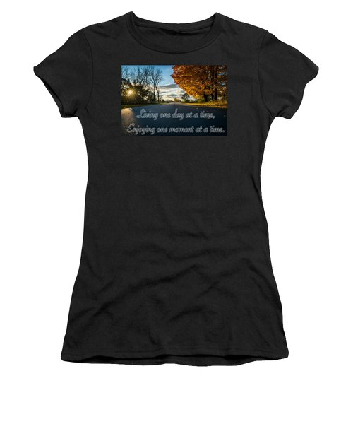 Fall Day With Saying Women's T-Shirt