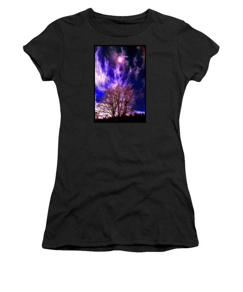 Fall Days In The Later World Women's T-Shirt (Athletic Fit)
