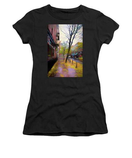 Fall Days Women's T-Shirt (Athletic Fit)