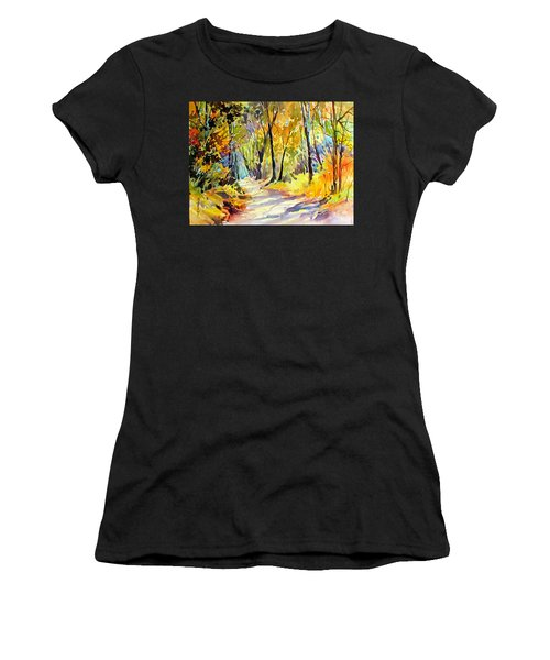 Fall Dazzle, Tennessee Women's T-Shirt (Athletic Fit)