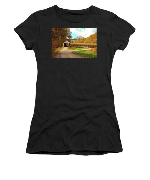 Fall Harvest - Parke County Women's T-Shirt