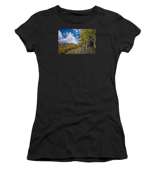 Women's T-Shirt featuring the photograph Fall In Colorado by Wesley Aston