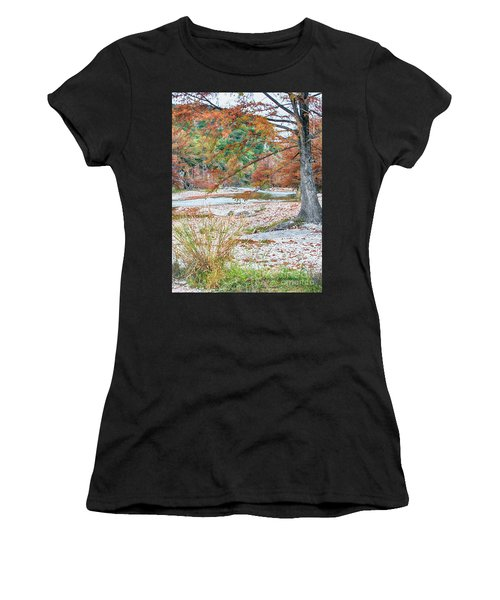 Fall In Texas Hills Women's T-Shirt (Athletic Fit)