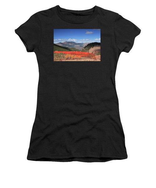 Fall In  Ute Trail  Women's T-Shirt