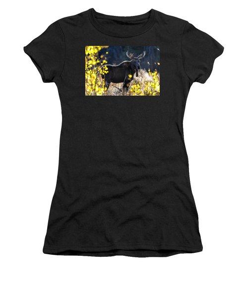 Fall Moose Women's T-Shirt