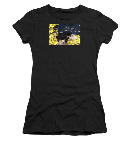 Fall Moose Women's T-Shirt