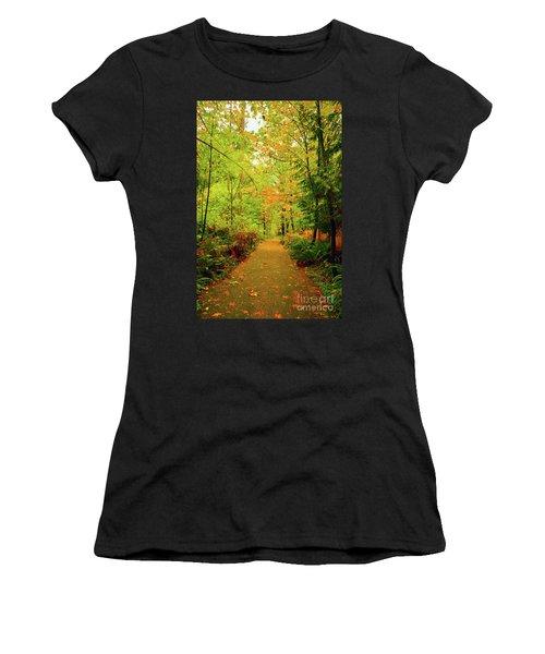 Fall Path Too Women's T-Shirt
