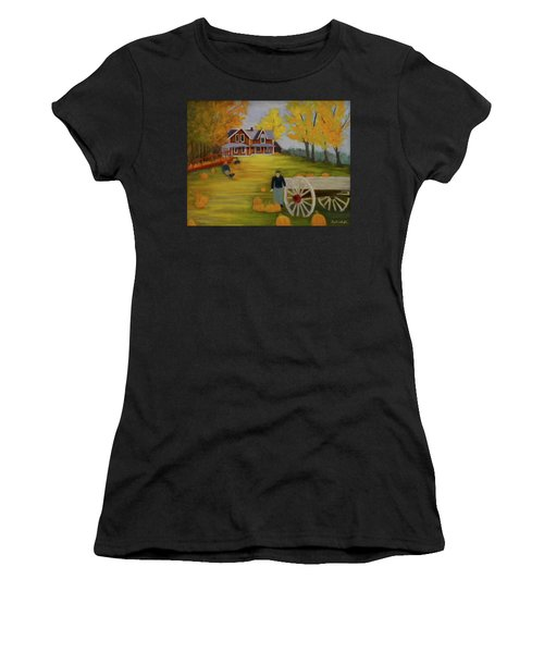 Fall Pumpkin Harvest Women's T-Shirt