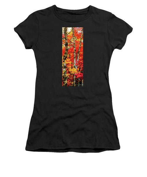 Fall Reds Women's T-Shirt (Athletic Fit)
