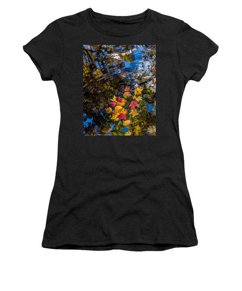 Fall Reflection - Pisgah National Forest Women's T-Shirt
