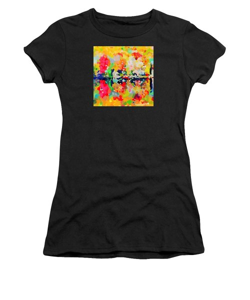 Fall Reflections Women's T-Shirt (Athletic Fit)