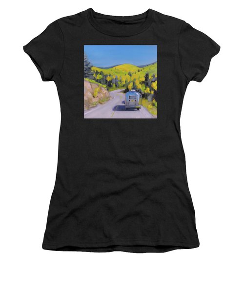 Fall Road Trip Women's T-Shirt (Athletic Fit)