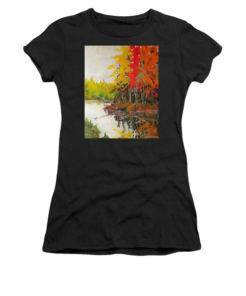 Fall Scene Women's T-Shirt