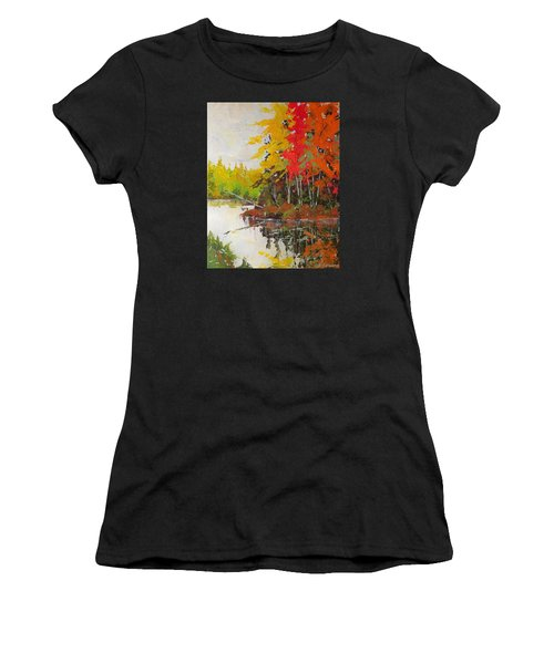 Fall Scene Women's T-Shirt (Athletic Fit)