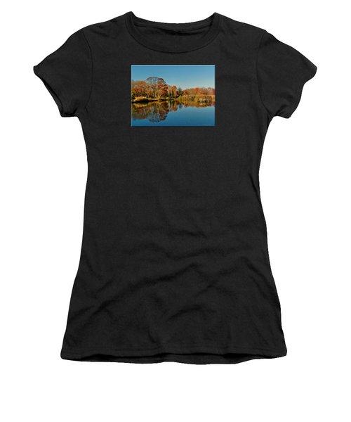 Fall Scene Women's T-Shirt (Athletic Fit)