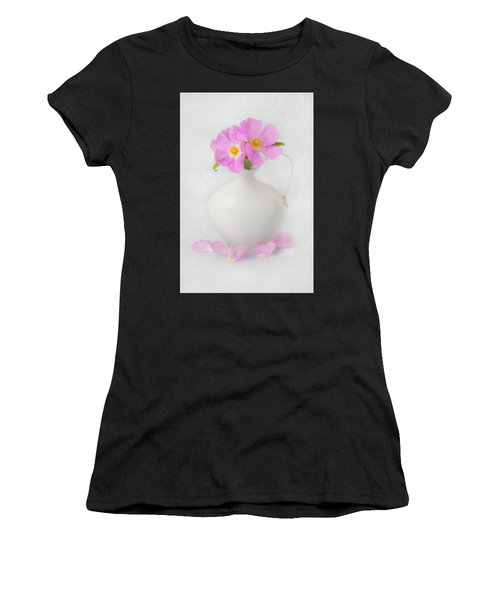 Fallen Petals Women's T-Shirt (Athletic Fit)