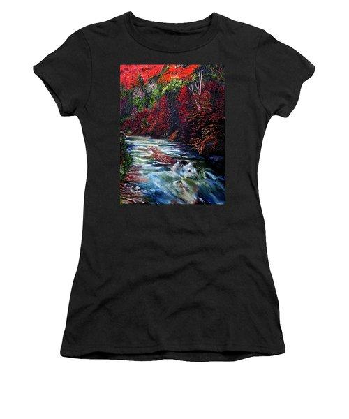 Falling Waters Women's T-Shirt