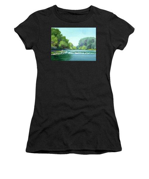 Falls At Estabrook Park Women's T-Shirt