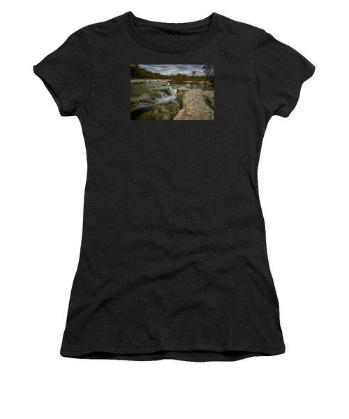 Texas Hill Country Falls Women's T-Shirt