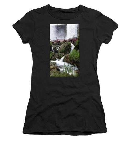 Falls Women's T-Shirt (Athletic Fit)