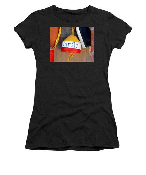 Family Buoy Women's T-Shirt (Athletic Fit)