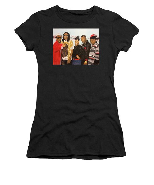 Family Reunion Women's T-Shirt (Athletic Fit)