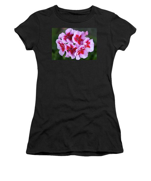 Women's T-Shirt (Junior Cut) featuring the photograph Family by Sherry Hallemeier