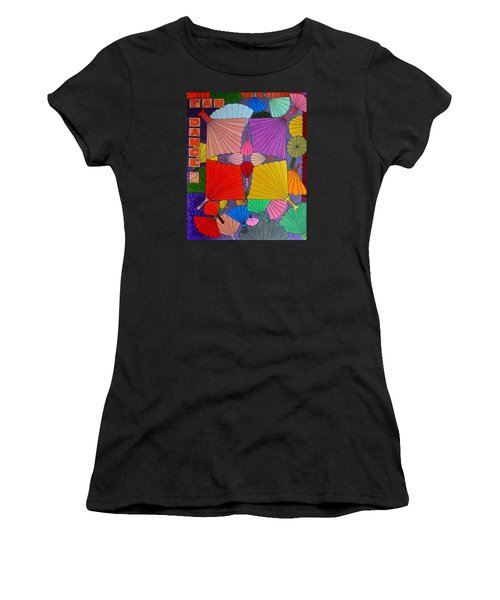 Fan Dance 2 Women's T-Shirt (Athletic Fit)