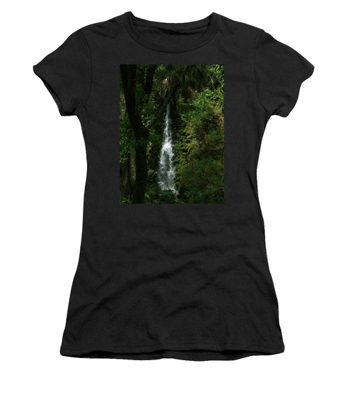 Fantasy Falls  Women's T-Shirt (Athletic Fit)