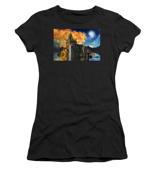 Far Away To The East Women's T-Shirt (Athletic Fit)