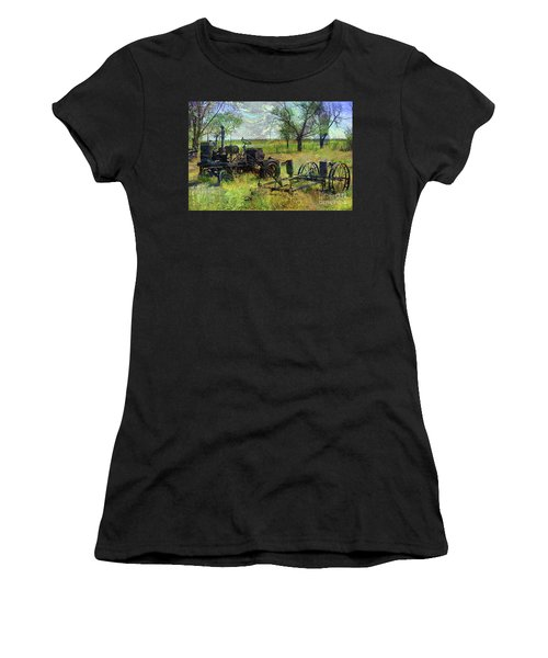 Farm Equipment Women's T-Shirt (Athletic Fit)