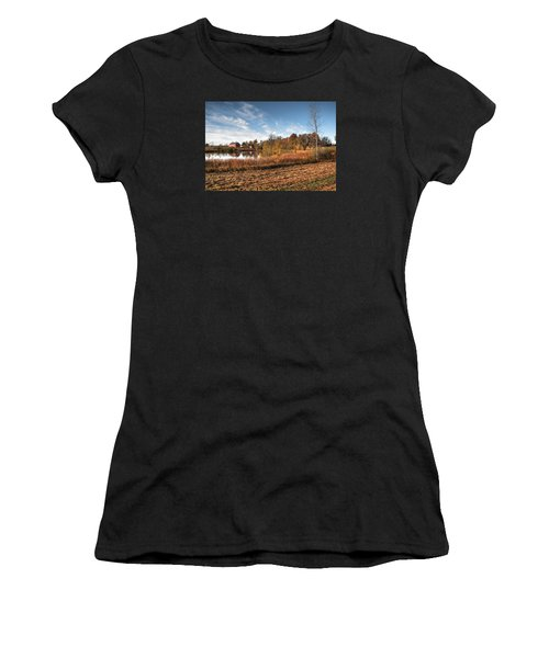 Farm Fall Colors Women's T-Shirt (Athletic Fit)