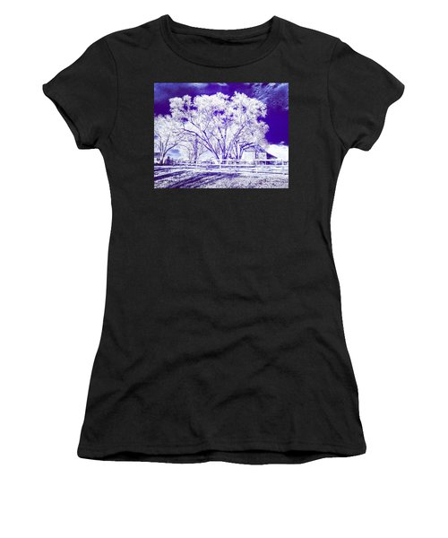 Farm In Suburbia With Wildcat Flare Women's T-Shirt