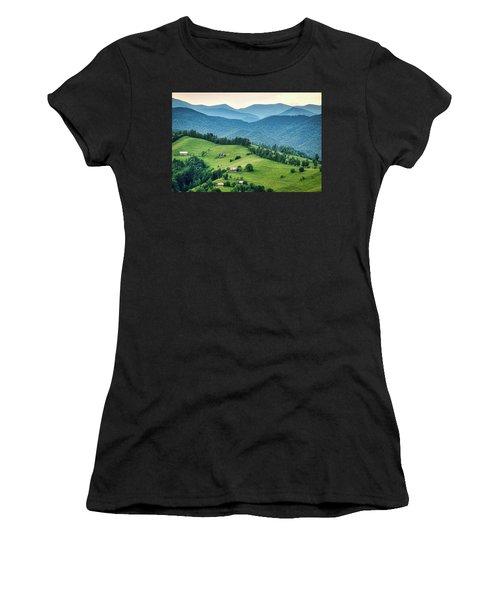 Farm In The Mountains - Romania Women's T-Shirt