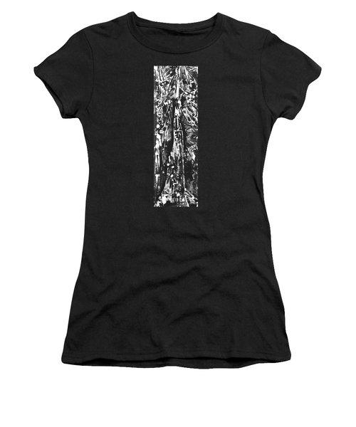 Father Women's T-Shirt (Junior Cut) by Carol Rashawnna Williams