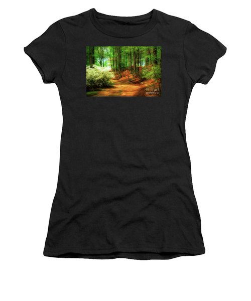 Favorite Path Women's T-Shirt (Athletic Fit)