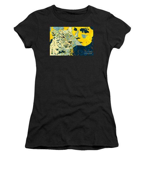 Feline Looks Women's T-Shirt (Athletic Fit)