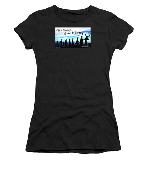 Fellowship Of The King Women's T-Shirt (Athletic Fit)