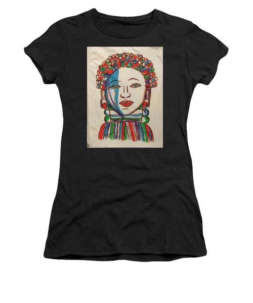 Bondo Mask T Shirt - Sierra Leone Women's T-Shirt (Athletic Fit)