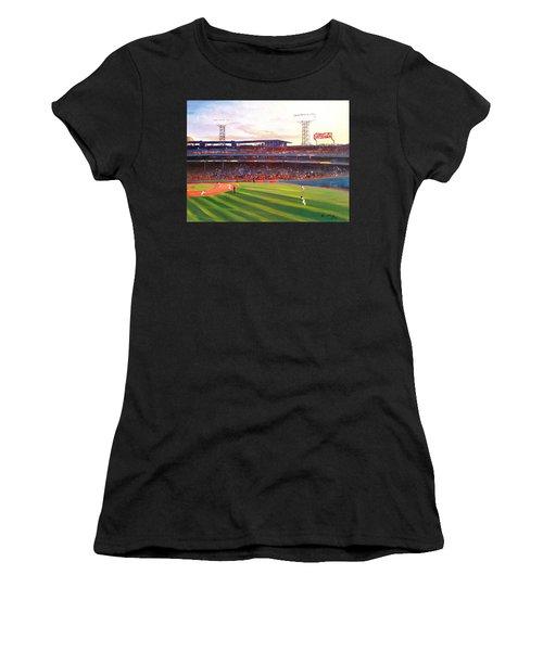 Fenway Park Women's T-Shirt (Athletic Fit)