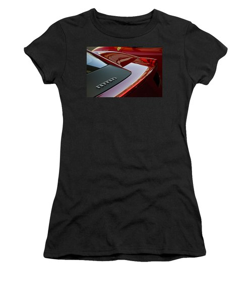 Ferrari Italia Women's T-Shirt (Athletic Fit)