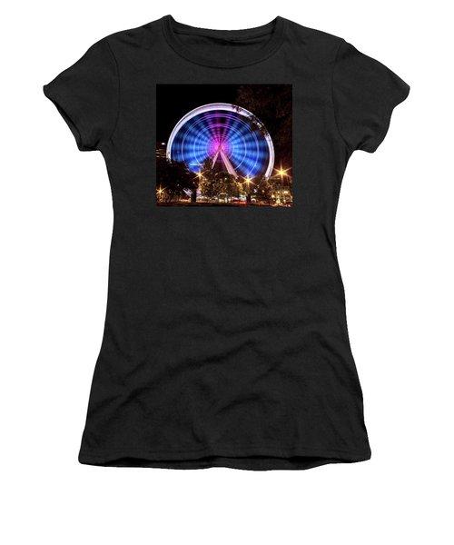 Ferris Wheel At Centennial Park 2 Women's T-Shirt