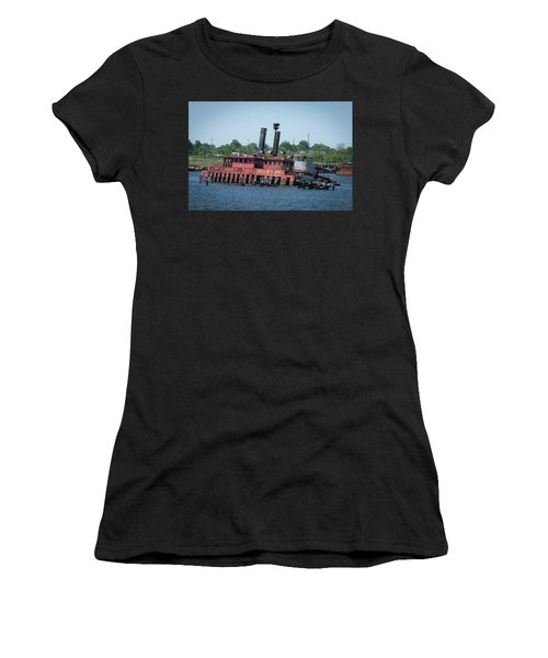 Ferry From Long Time Ago Women's T-Shirt