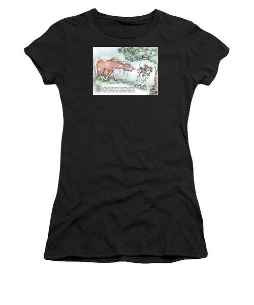 Fickle Creatures Foto Women's T-Shirt