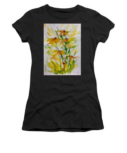 Field Bouquet Women's T-Shirt (Athletic Fit)