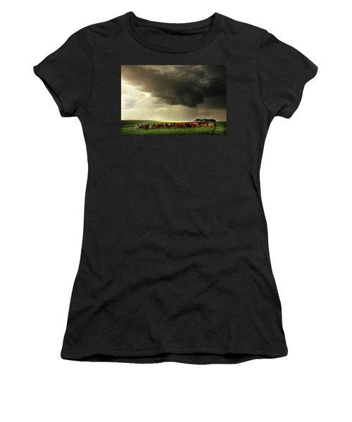 Field Of Beams Women's T-Shirt